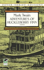 The Adventures of Huckelberry Finn by Mark Twain