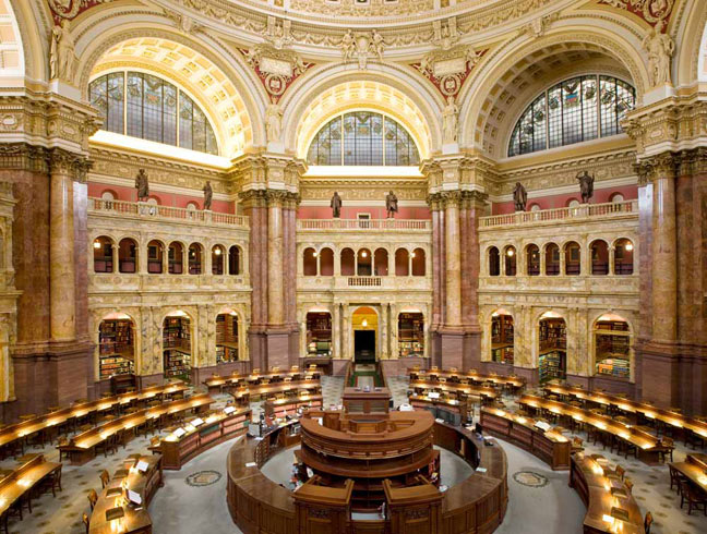 Visit Library Of Congress Reading Room