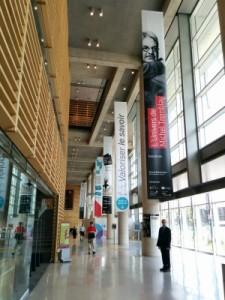 Grande Bibliothèque Entrance Hall