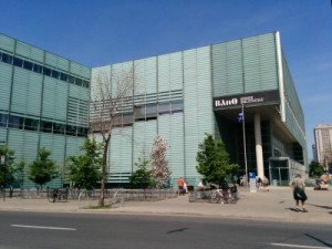 Front View of the Grande Bibliothèque
