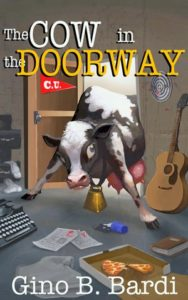 The Cow in the Doorway by Gino Bardi